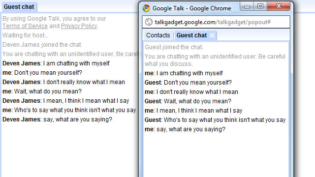 Google Talk Online is Working