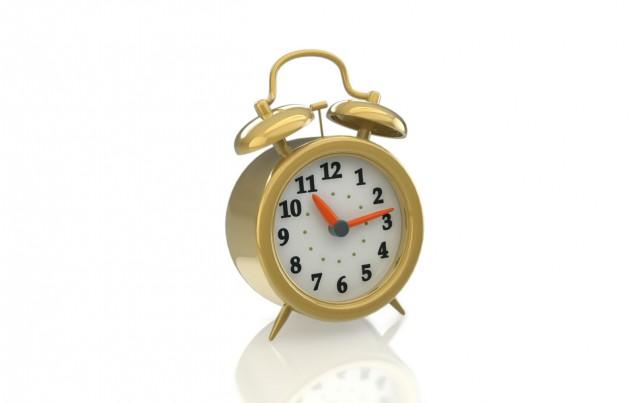 cinema 4d alarm clock render