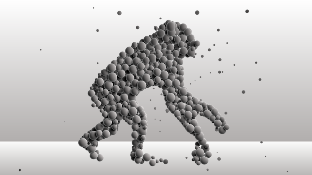dynamic balls form gorilla