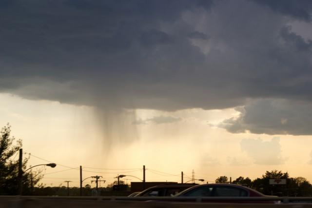 rain cloud pouring down