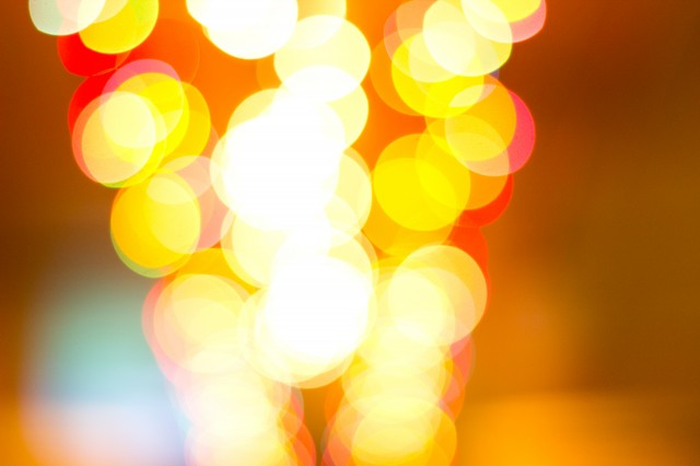 wonderful bokeh