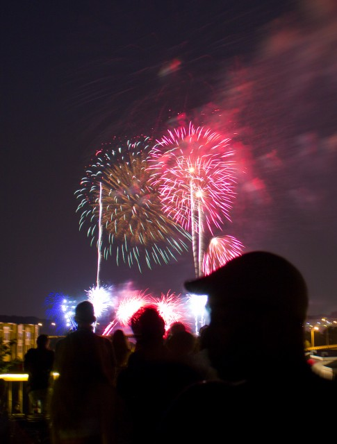 fireworks in manchester
