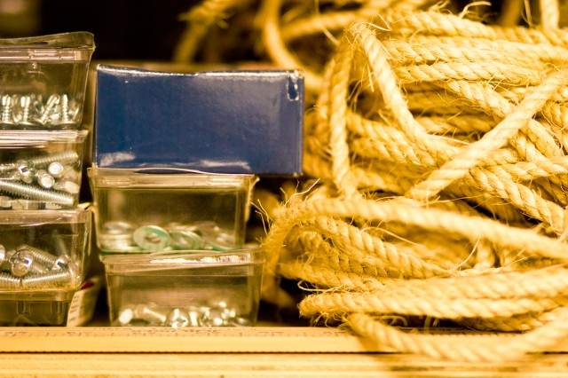 rope and supplies