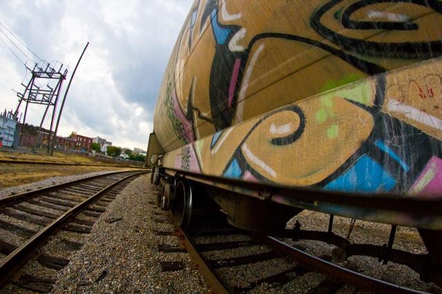 railway graffiti is fun