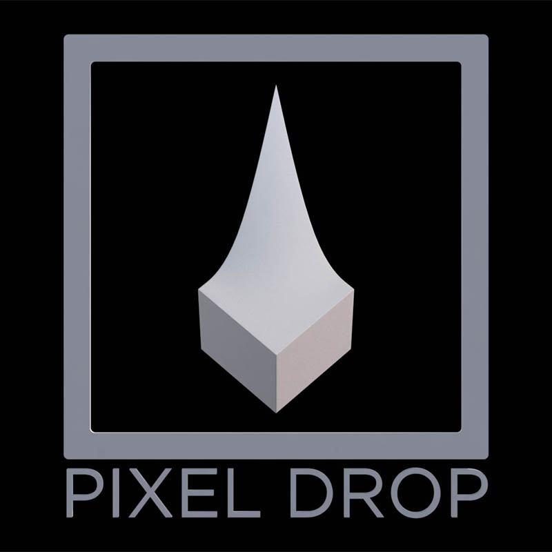 pixel drop logo fool me twice