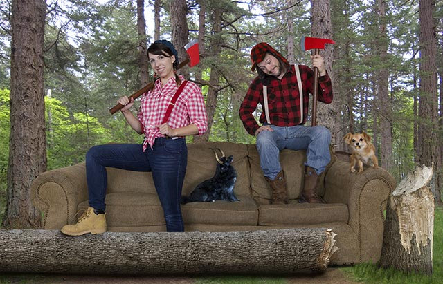 septimber photoshoto couch photo